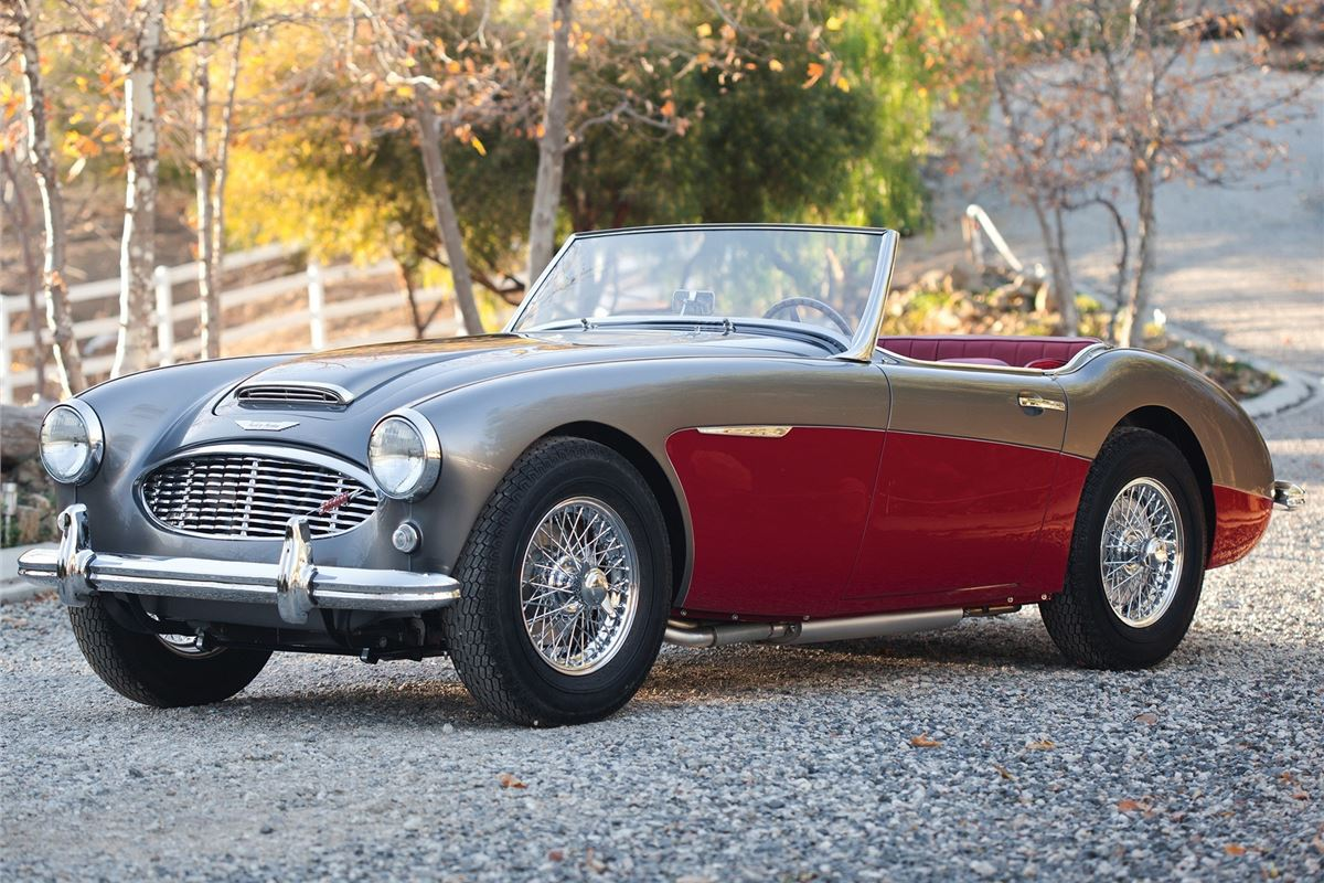 Austin Healey 3000mk1 Mk2 Mk3 Classic Car Review