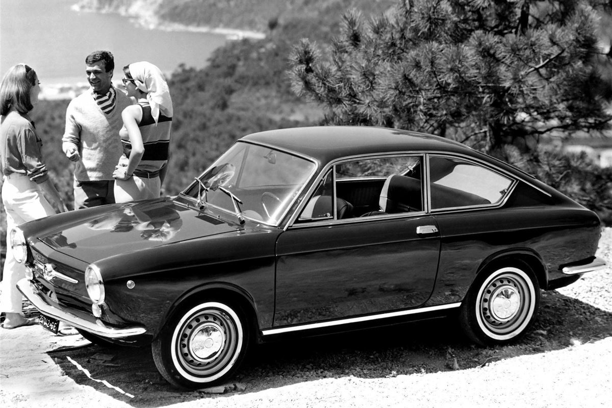 fiat 850 coupe spider classic car review honest john. Black Bedroom Furniture Sets. Home Design Ideas