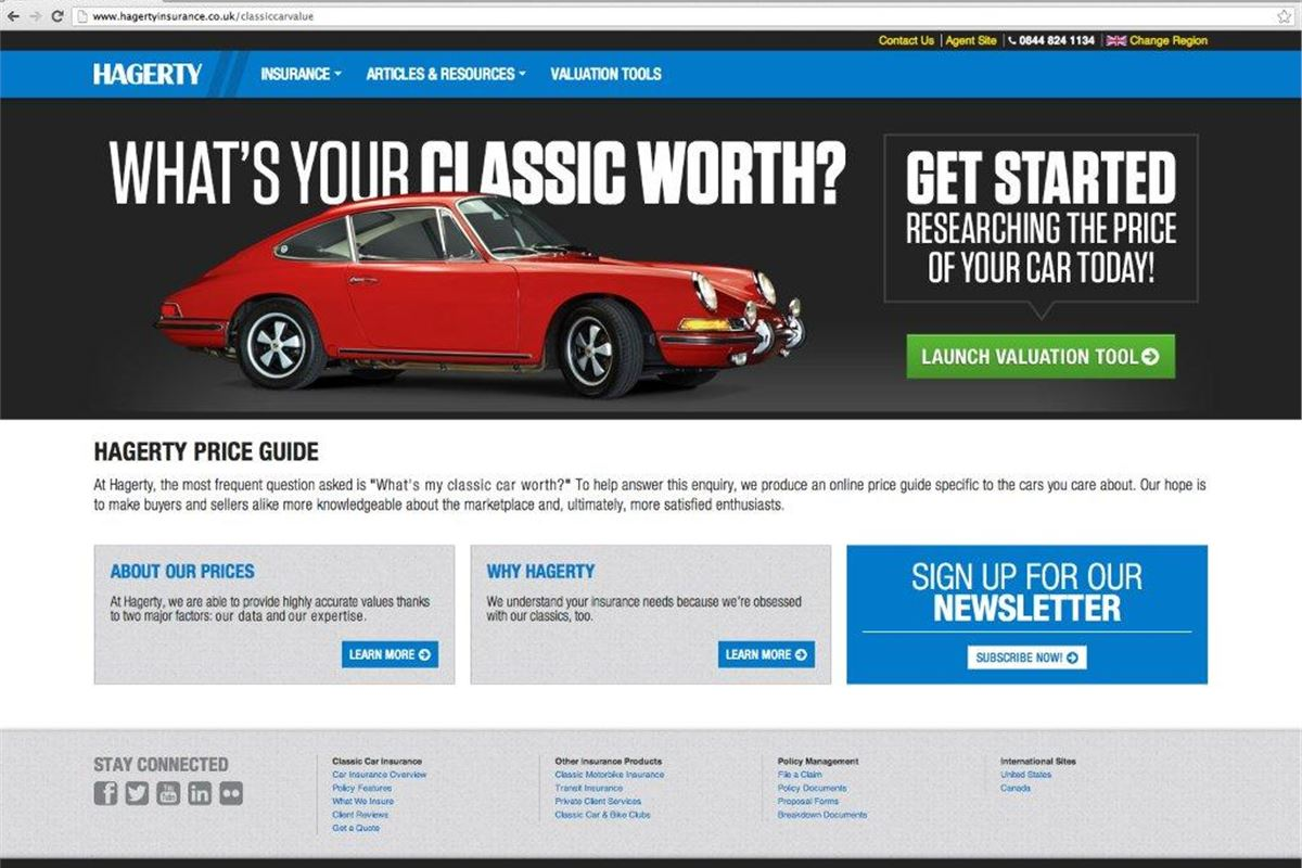 Hagerty Car Value >> Hagerty Launches Free Online Valuation Tool Honest John