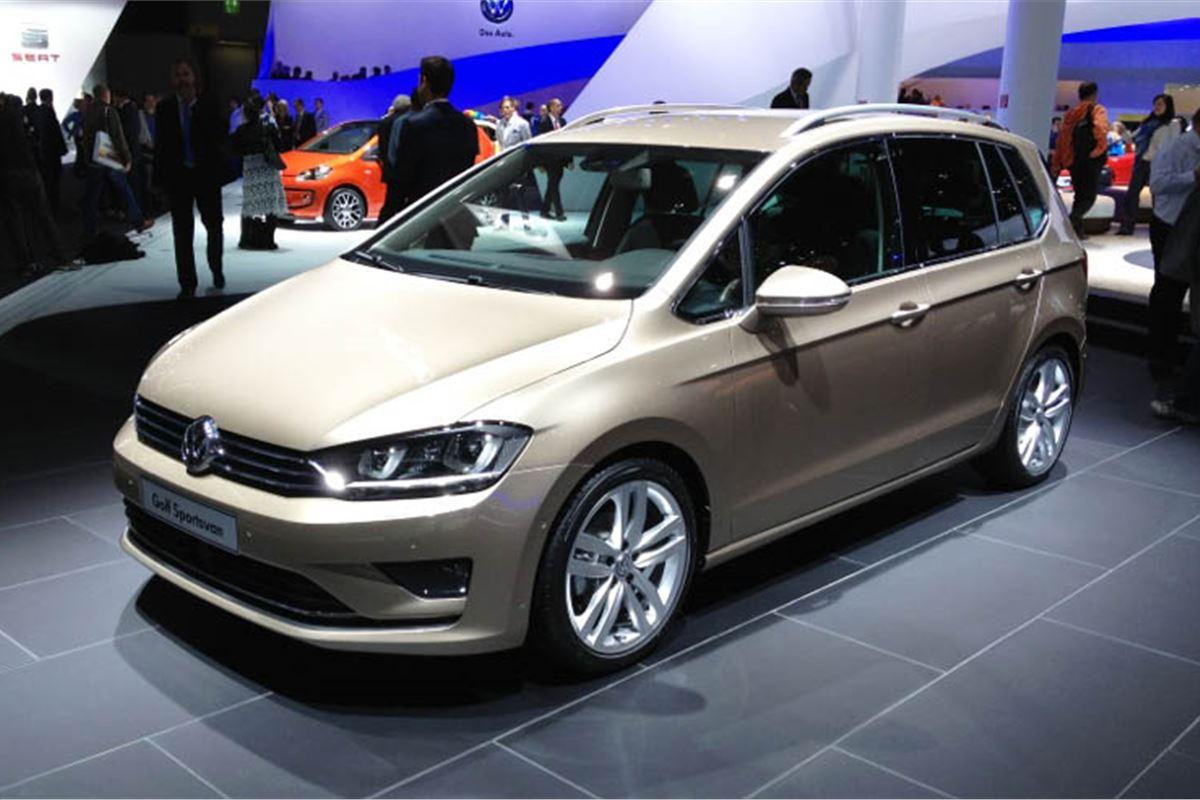 volkswagen sportsvan is the next golf plus motoring. Black Bedroom Furniture Sets. Home Design Ideas