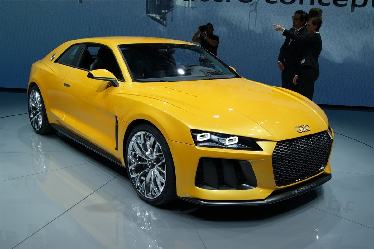 frankfurt motor show 2013 audi sport quattro concept launched motoring news honest john. Black Bedroom Furniture Sets. Home Design Ideas