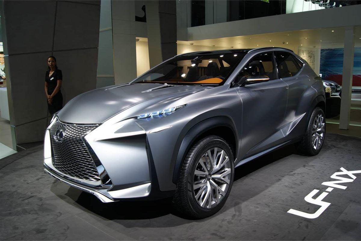 Frankfurt Motor Show 2013: Lexus LF-NX concept previews ...