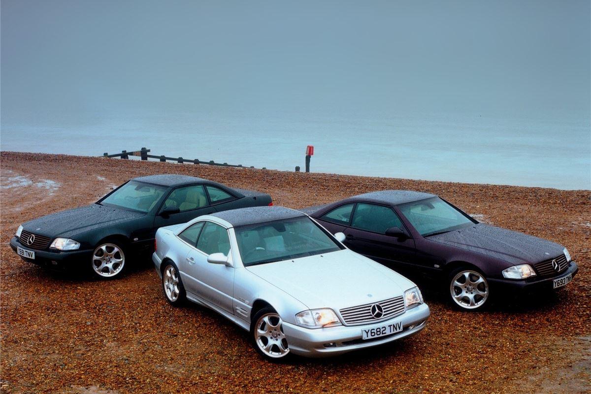 mercedes benz sl r129 classic car review honest john. Black Bedroom Furniture Sets. Home Design Ideas