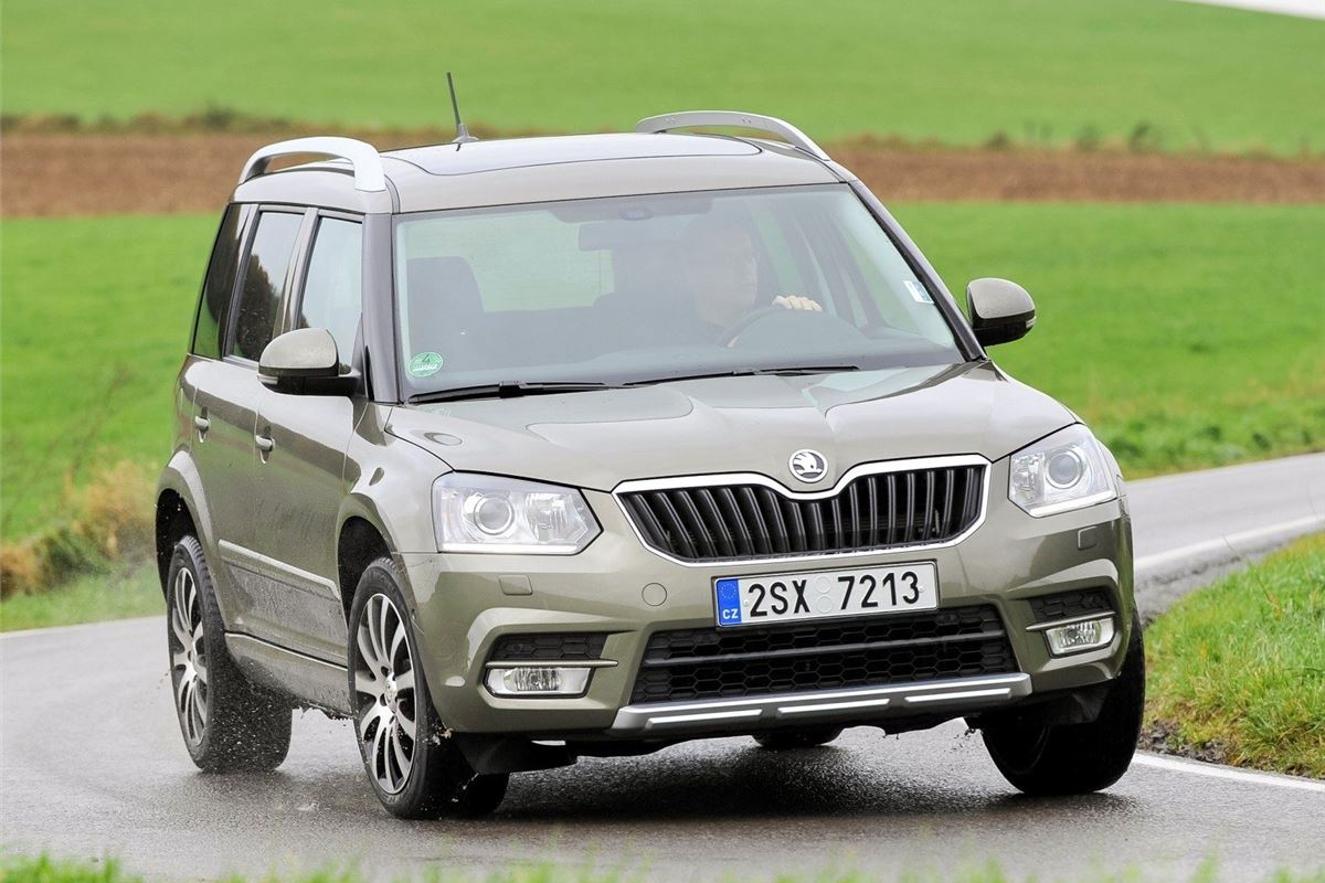 skoda yeti 2014 road test road tests honest john. Black Bedroom Furniture Sets. Home Design Ideas