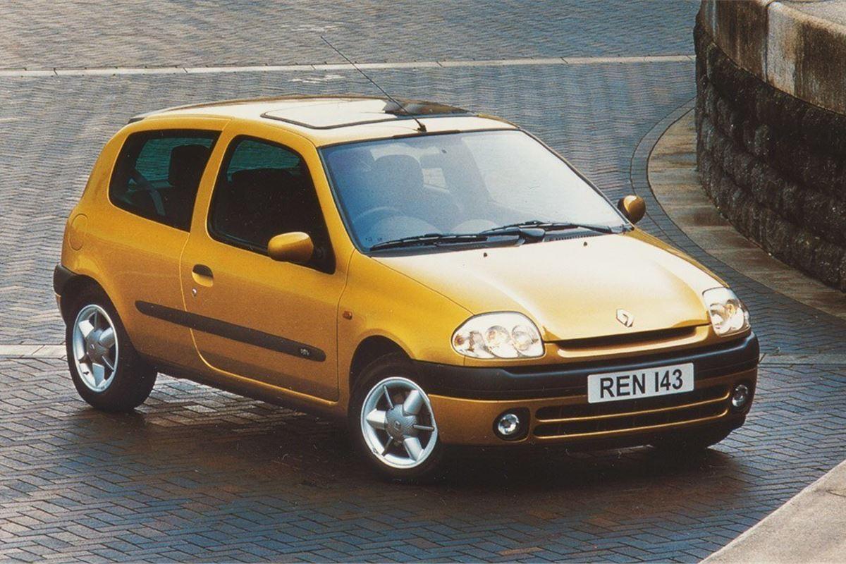 renault clio ii 1998 car review honest john. Black Bedroom Furniture Sets. Home Design Ideas