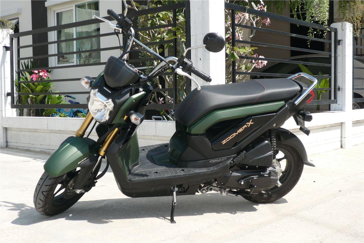 Citaten Zomer X : Honda zoomer cc road test tests honest john