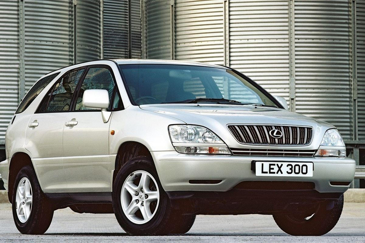 lexus rx300 2001 car review honest john. Black Bedroom Furniture Sets. Home Design Ideas
