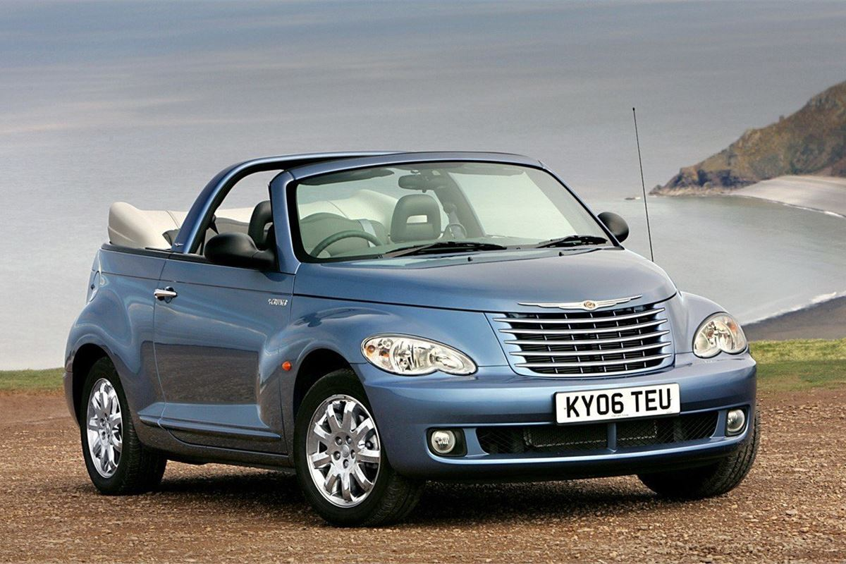 chrysler pt cruiser cabriolet 2005 car review honest john. Black Bedroom Furniture Sets. Home Design Ideas