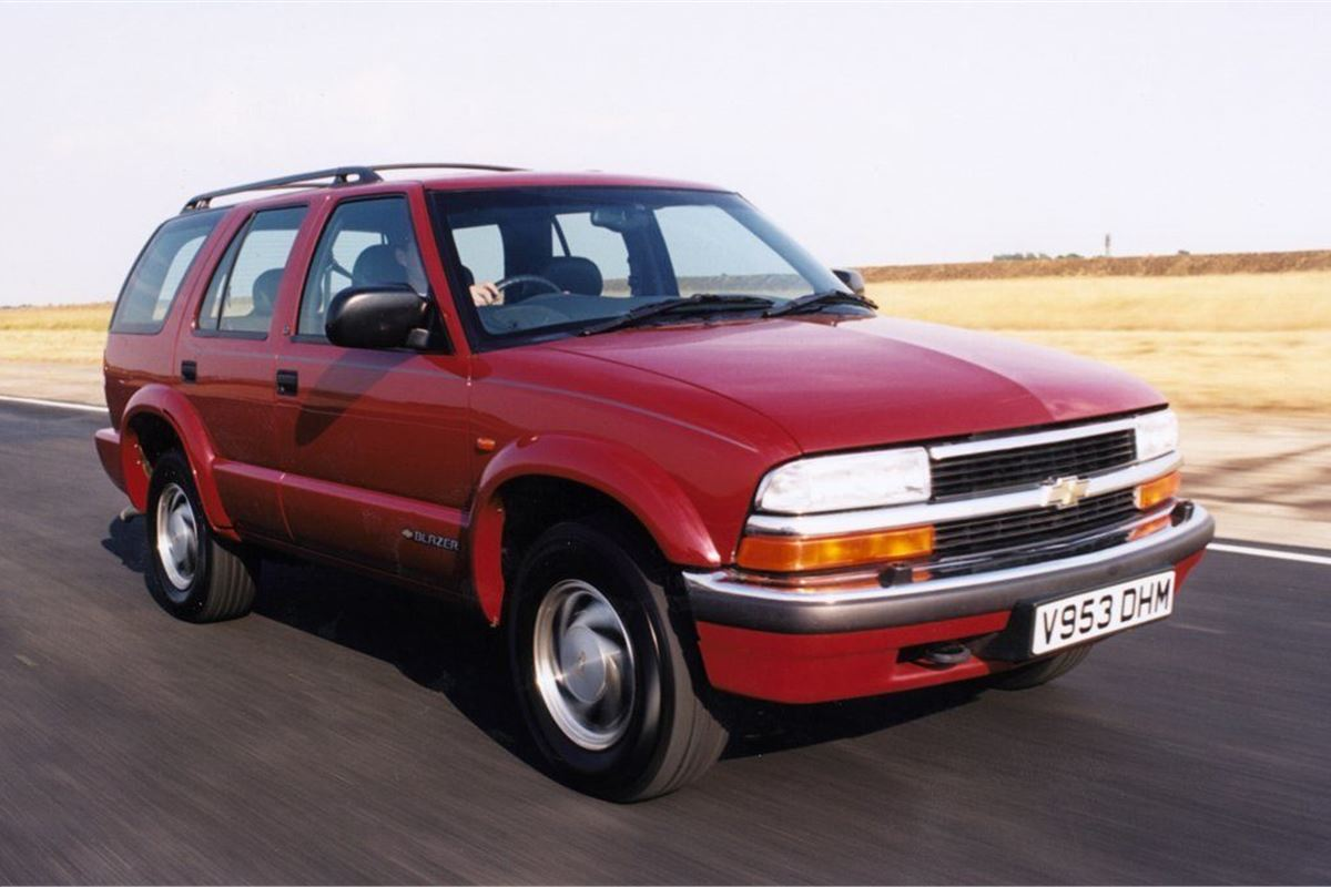 Chevrolet Blazer 1998 Car Review Honest John