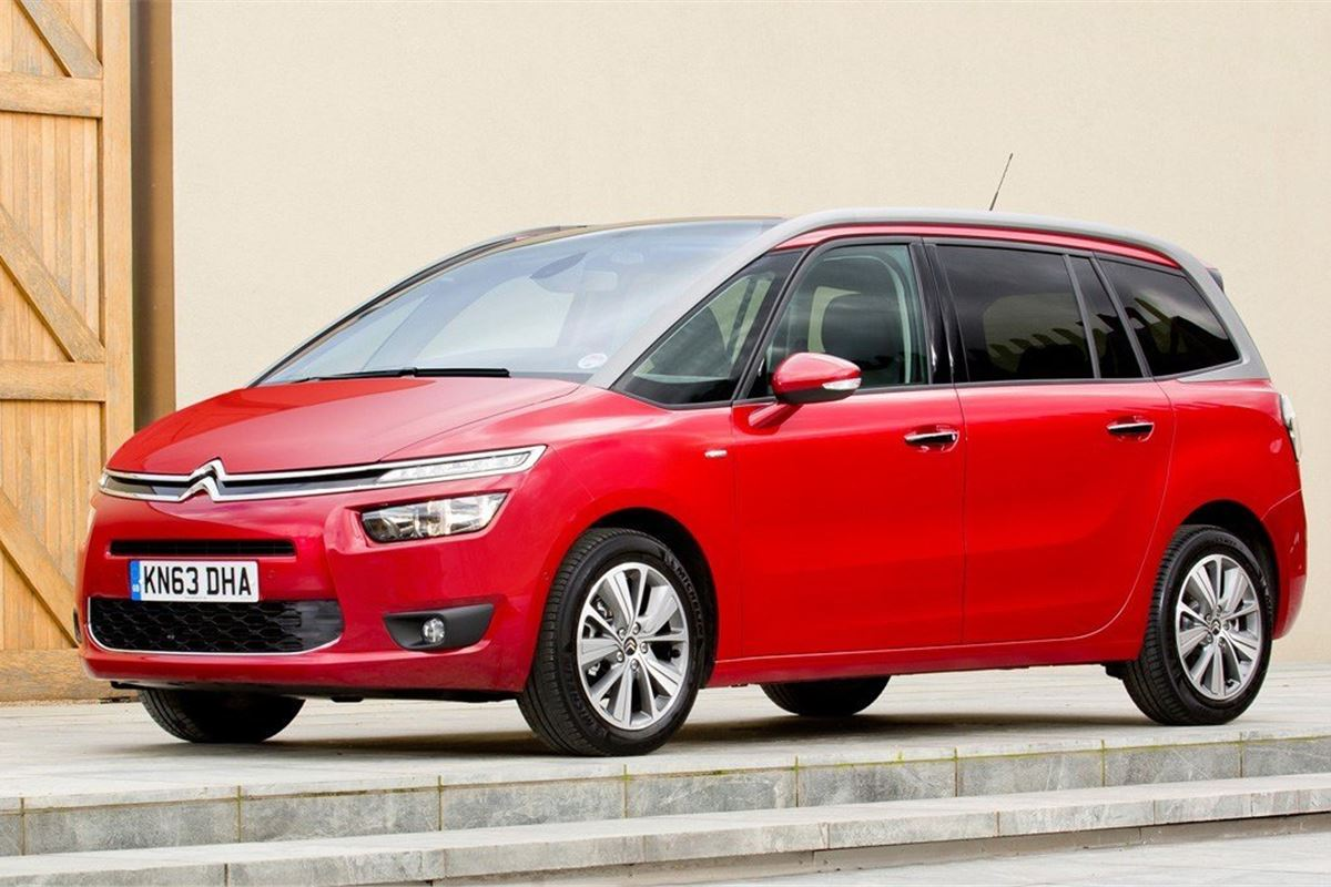 citroen c4 grand picasso 2014 car review honest john. Black Bedroom Furniture Sets. Home Design Ideas