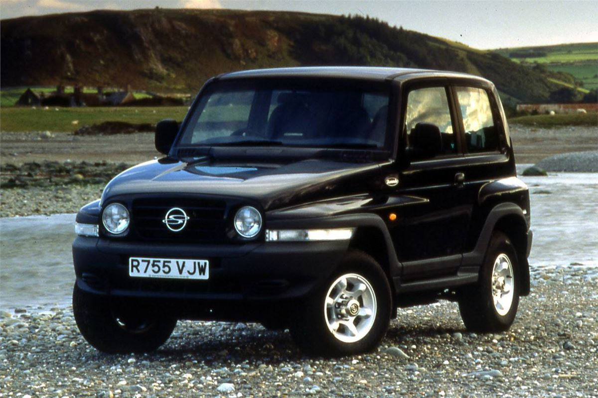 ssangyong korando 1997 car review honest john. Black Bedroom Furniture Sets. Home Design Ideas