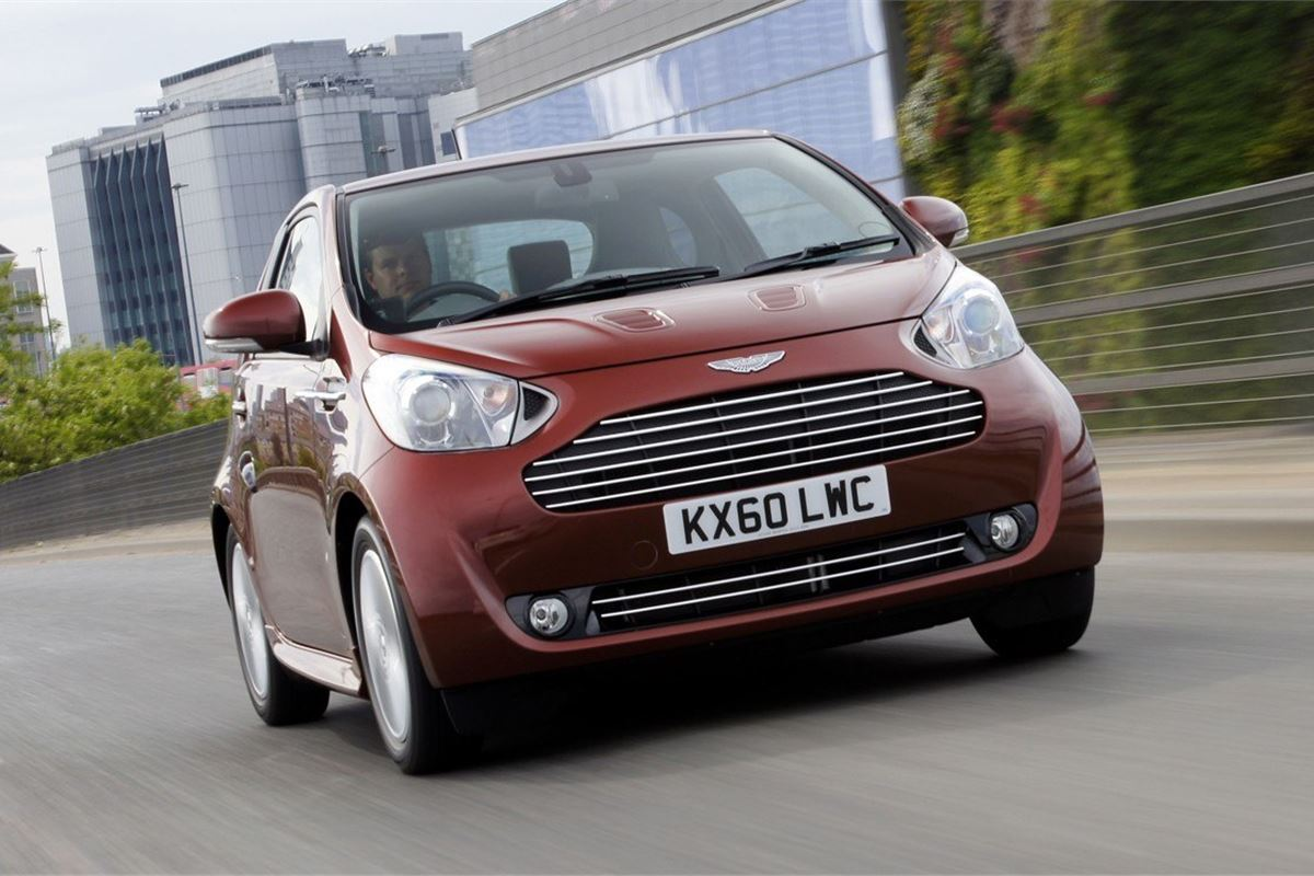 aston martin cygnet 2010 - car review | honest john