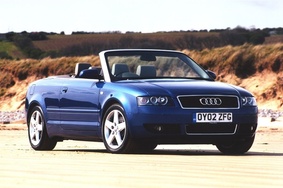 audi a4 cabriolet 2002 car review honest john. Black Bedroom Furniture Sets. Home Design Ideas