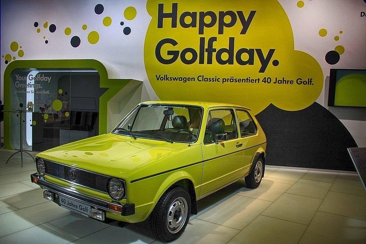 Volkswagen Golf 40th Birthday Celebrated Techno Classica