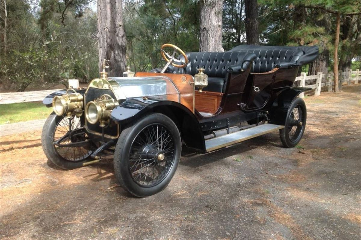 Bonhams to sell 105 year old outback mercedes in stuttgart for Best time of year to buy a mercedes benz