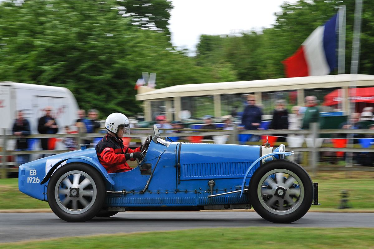 Bugattis To Star At Prescott Hill Climb Honest John