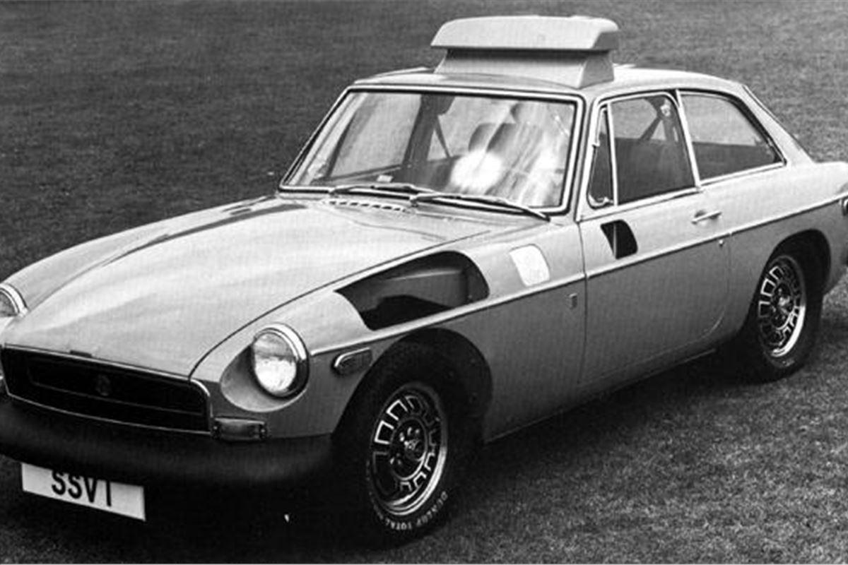 Same Day Mot >> Curios: British Leyland Safety Research Vehicles | | Honest John