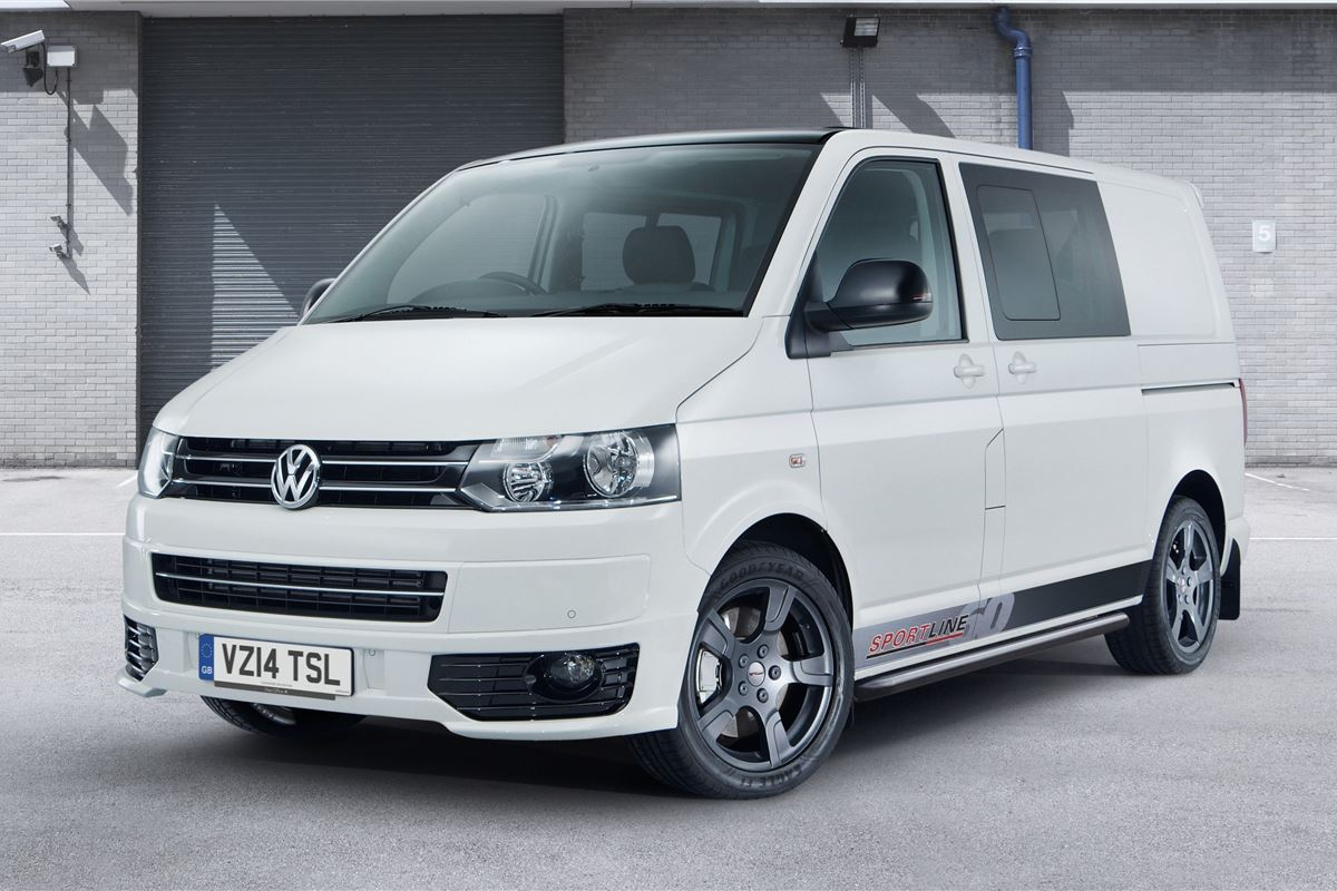 volkswagen launches transporter sportline 60 honest john. Black Bedroom Furniture Sets. Home Design Ideas