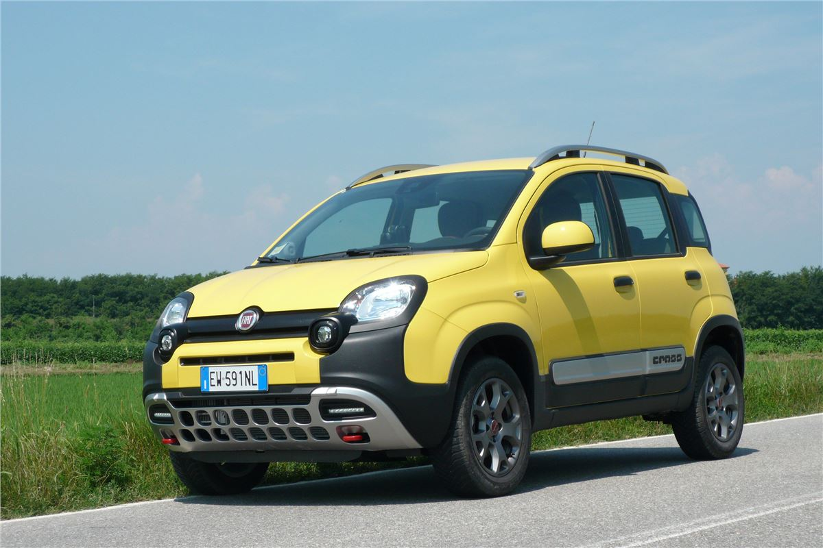 fiat panda cross 2014 road test road tests honest john. Black Bedroom Furniture Sets. Home Design Ideas