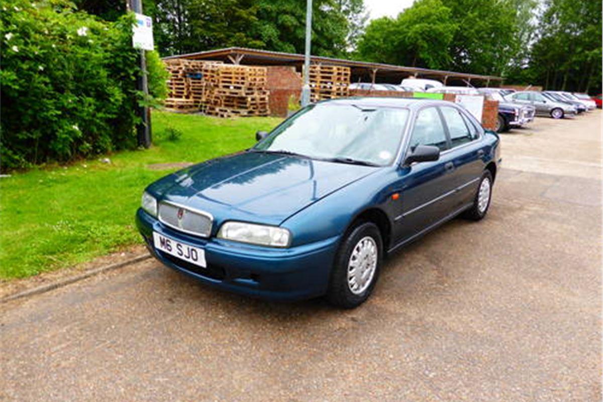 A Grand Monday Rover 600 Honest John