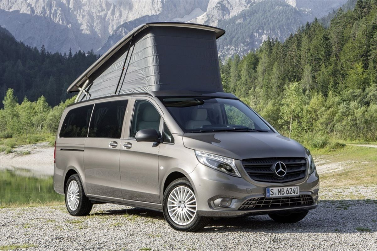 Mercedes Launches Marco Polo Camper Van