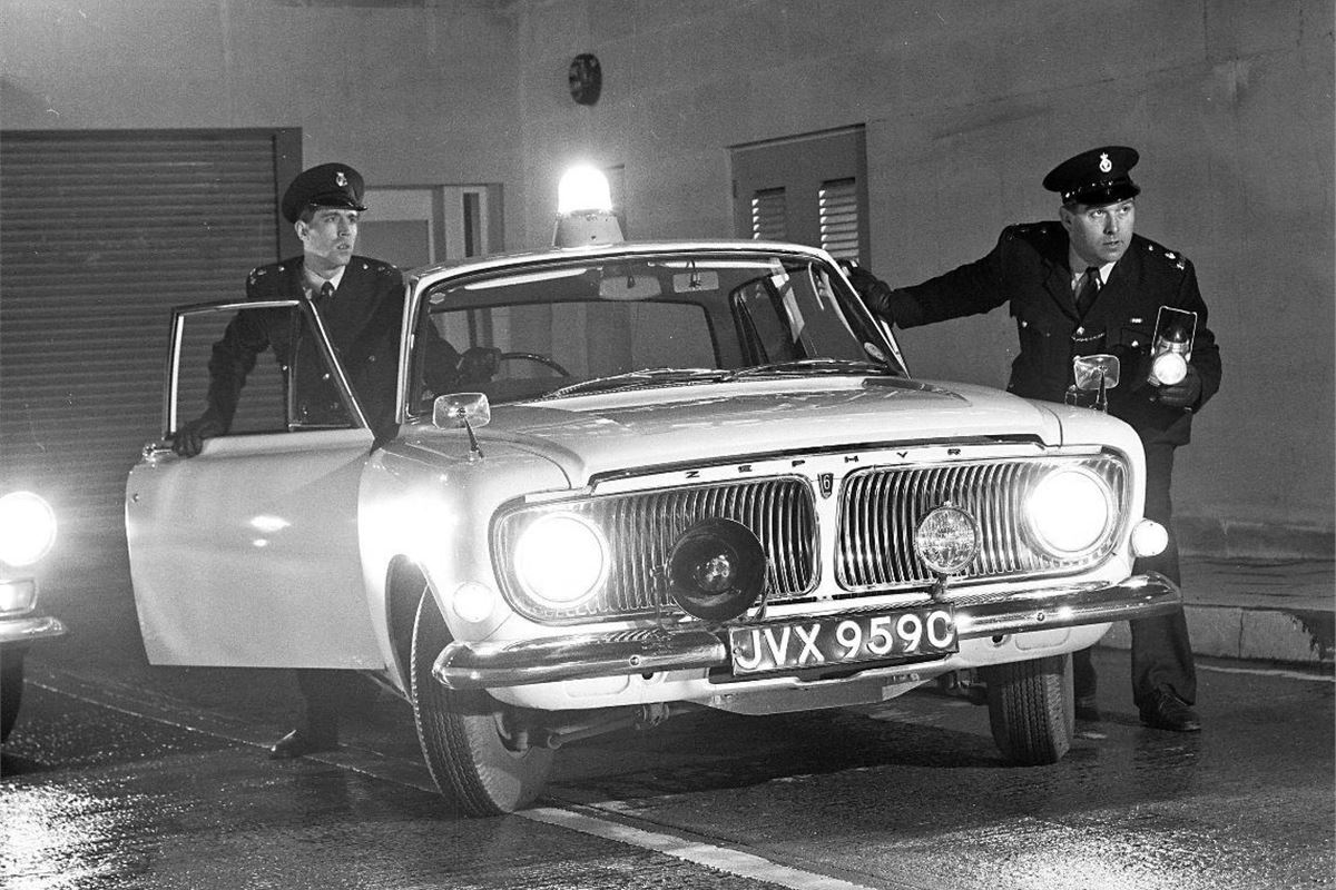 Top 10: Classic police cars | | Honest John