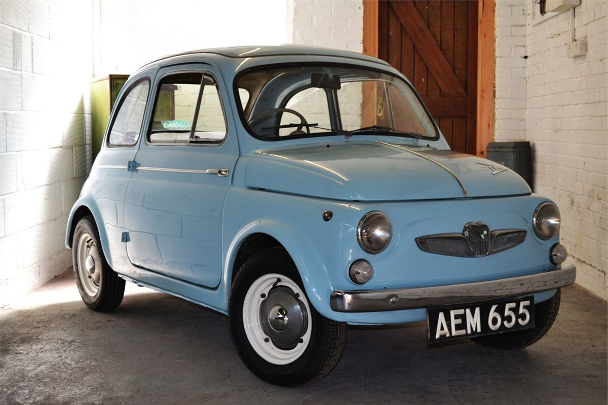 Rare Steyr Puch Fiat 500 Up For Sale Honest John 1954