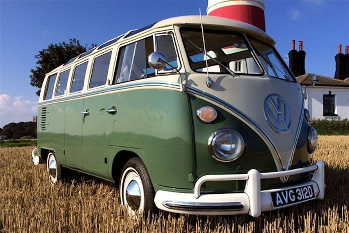 vw type 2 t1 21 window combi up for auction honest john. Black Bedroom Furniture Sets. Home Design Ideas