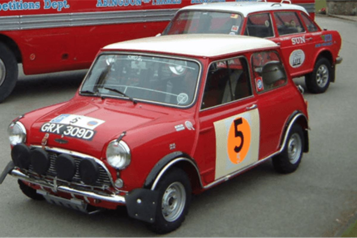 Bmc Competition Cars Set For Race Retro Honest John