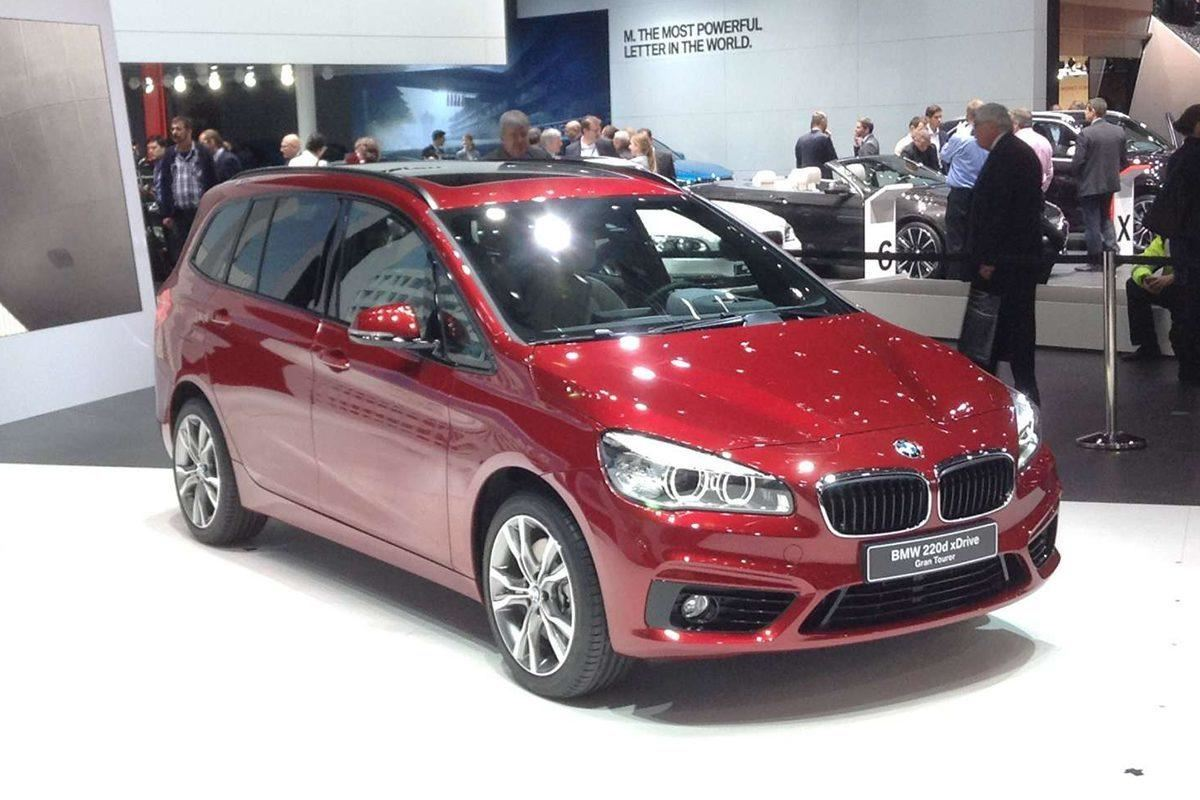 Geneva motor show 2015 seven seat bmw 2 series coming in for Garage seat geneve