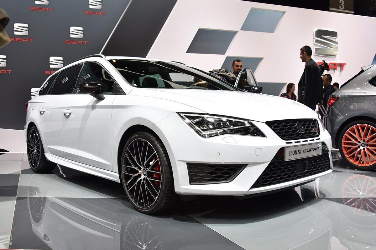 Geneva motor show 2015 seat leon st cupra makes an for Garage seat geneve