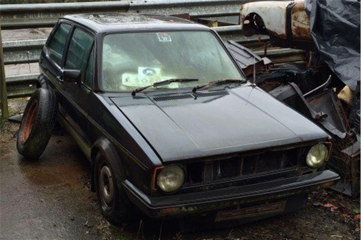 Classic Car Garage Finds