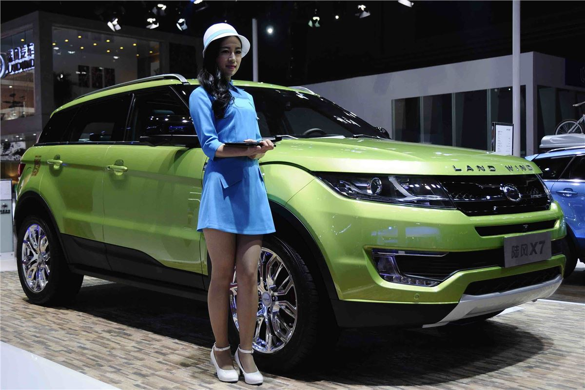 "Range Rover Suv >> Top 10: Chinese ""copy and paste"" cars 
