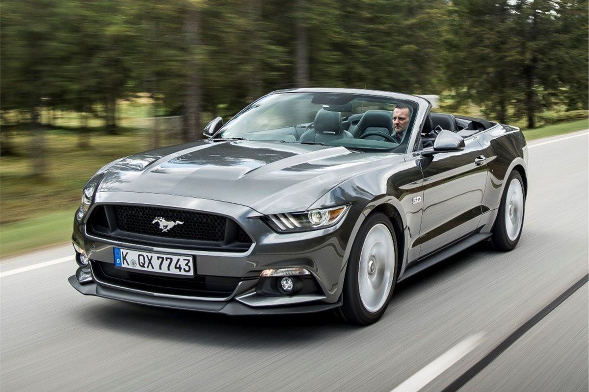 ford mustang  ecoboost  road test road tests honest john
