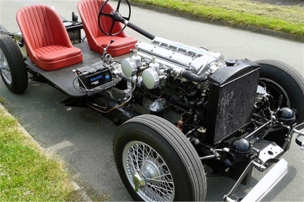 Jaguar Xk120 Restoration Project To Go Under The Hammer