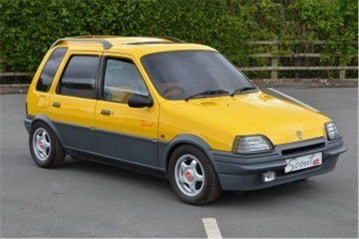 Rover Metro Scout Concept Makes 163 3600 At Auction