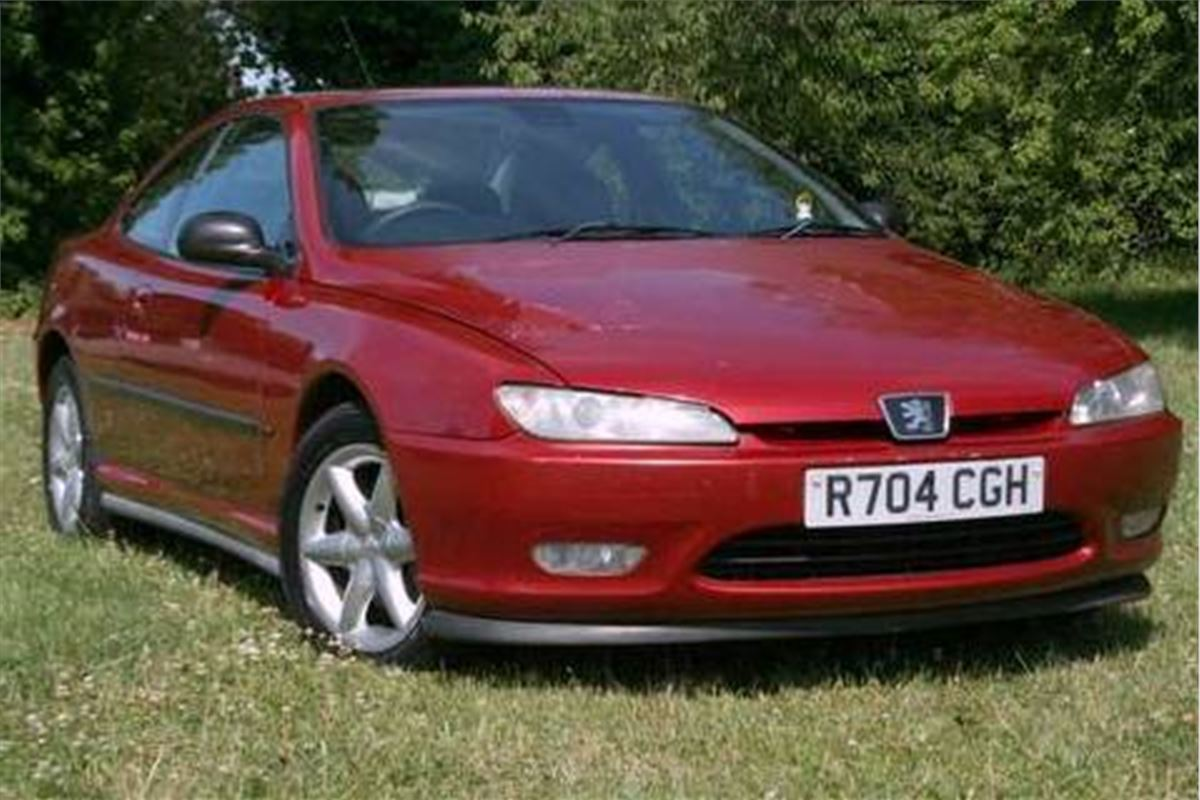 A Grand Monday Peugeot 406 Coupe V6 163 450 Honest John