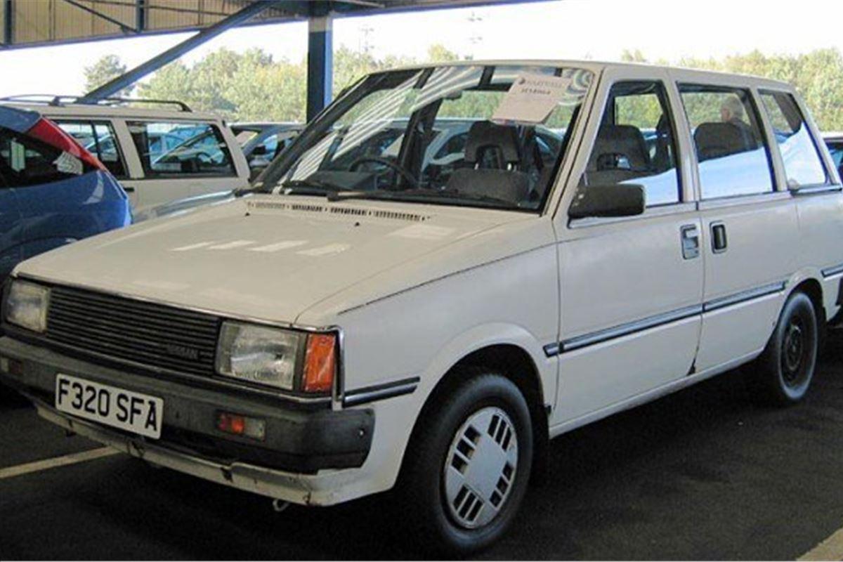 Nissan Prairie 1983 Car Review Honest John