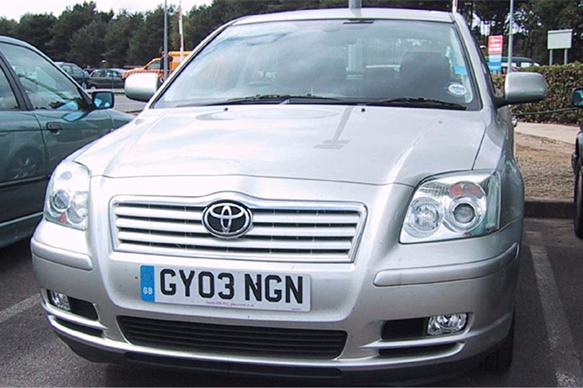 toyota avensis d 4d 2003 six month test road tests honest john. Black Bedroom Furniture Sets. Home Design Ideas