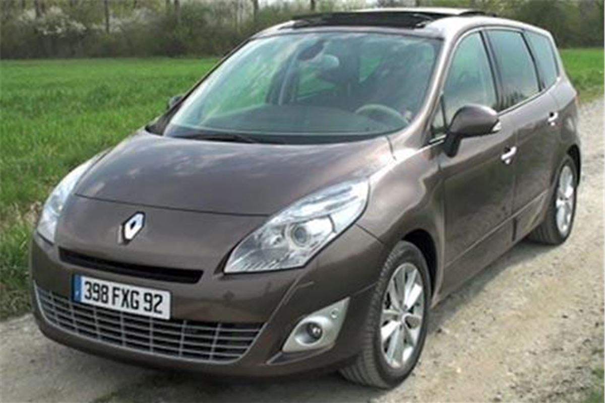 renault grand scenic 2009 road test road tests honest john. Black Bedroom Furniture Sets. Home Design Ideas