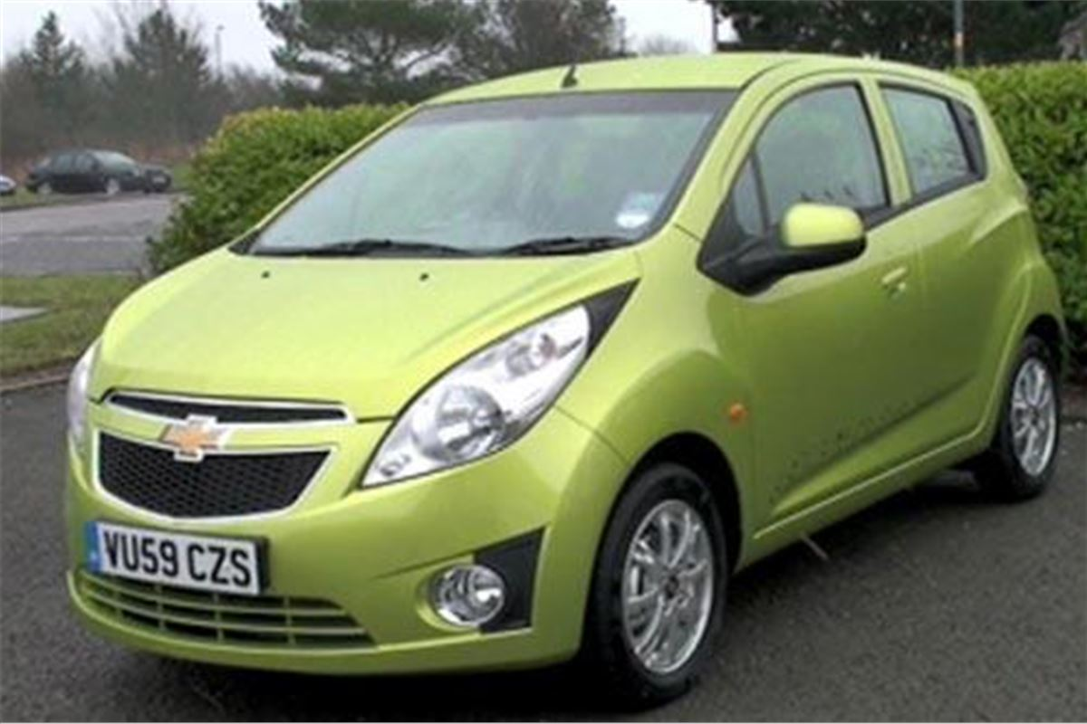chevrolet spark  road test road tests honest john