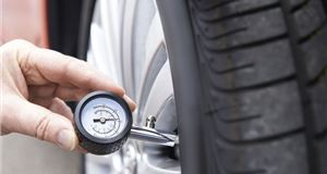 How can I check my tyre pressures?