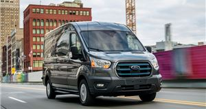 Ford unveils electric E-Transit van with 217-mile range