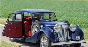 1.5/2.5/3.5 Litre saloon and drophead coupe (1938 - 1951)