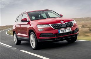 skoda karoq 2018 on 1 5 tsi 150 dsg real mpg honest john