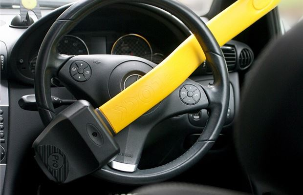 Stoplock Professional Car Steering Wheel Lock Anti-Theft Universal