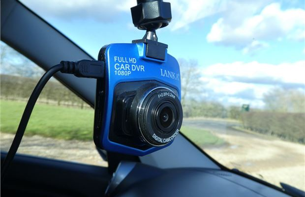 6991c18543 Review  Lanka Blue dash cam