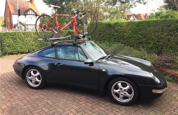 Review Thule Raingutter Bike Rack For Older Classic Cars