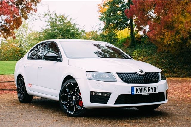 skoda octavia vrs 2013 - car review | honest john