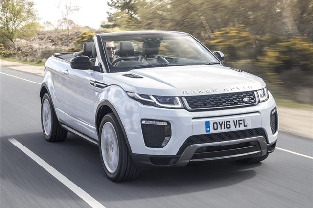 Land Rover Range Rover Evoque Convertible 2016 Car Review